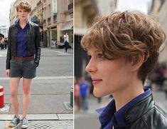 Short Curly Women's Hairstyles | http://www.short-haircut.com/short-curly-womens-hairstyles.html