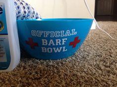 Chemo sucks..barf bowl