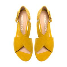 9bcb3a00 Dream X-2233 Żółty (welur) - Noevision #sandals #summer #fashion #yellow  #shoes