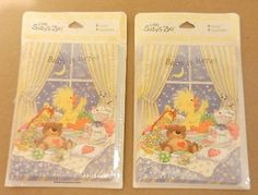 NEW Little Suzy's Zoo Birth Announcements HTF Current Suzy Zoo 36 Cards DUCK…