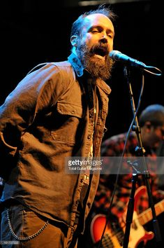 Neil Fallon of American hard rock band Clutch performing live onstage during a soundcheck at Koko, January January 22, Hard Rock, Rock Bands, Stock Photos, Portrait, Live, Concert, American, Musica