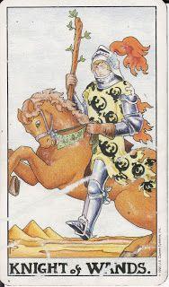 TAROT - The Royal Road: KNIGHT OF WANDS