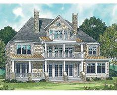 Coastal Home Plans - Honeysuckle House