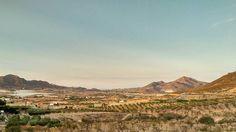 Valle de Morata (Lorca, Murcia) al Atardecer.