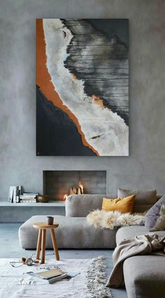 Enthralling Interior paint colors 2020 sherwin williams,Behr interior paint colors home depot and Modern interior wall painting ideas. Living Room Paint, Living Room Decor, Living Room Artwork, Living Rooms, Gray Couch Living Room, Living Room Canvas, Bedroom Decor, Modern Interior, Home Interior Design