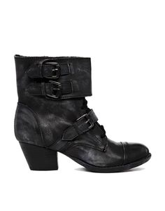 Blink Buckle Strap Ankle Boot; some witchy pirate wear.