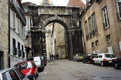 Black Gate, roman triumphal arch - Besancon, France