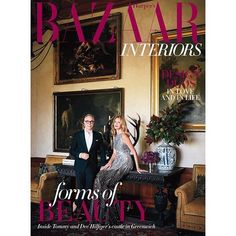 Our September/October issue of @harpersbazaarinteriors is out now! Featuring the #Connecticut castle of Tommy and Dee Hilfiger @tommyhilfiger as well as featured on @flavieaudi @apicalreform An in-depth feature on #dubaidesignweek @dubaidesignweek @downtowndesignd @beirutdesignfair the work of @akk_architects @marianawehbepr the stunning #Parisian home of designer @sacha.walckhoff a special feature on Design Duos in love and in life: @fadisarieddine @designtalk @pallavideaninteriors…