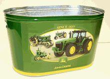 John  Deere bedroom ideas | Amazon.com: John Deere Galvanized Large Party Tub: Home & Kitchen