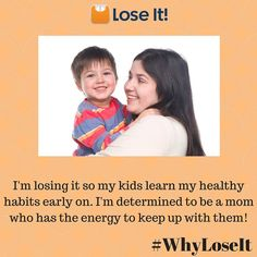 Are your children your motivation? Tell us your reason for getting healthy on FB, Twitter, or Instagram!