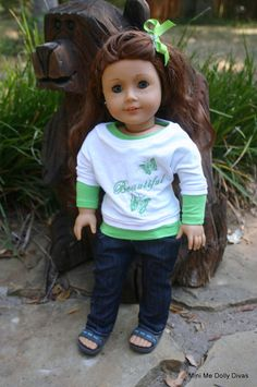Beautiful as a butterfly   4 piece outfit to by MiniMeDollyDivas, $25.00