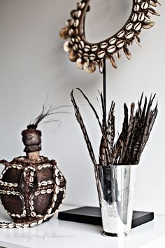 http://www.pinterest.com/joliesarts ∗ »☆Elysian-Interiors ♕Simply Divine #Interiordesign ~ Interior ~ African ~ ethnic ~ accents ✹