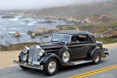 1935 Packard 1201 Eight Graber Convertible Victoria