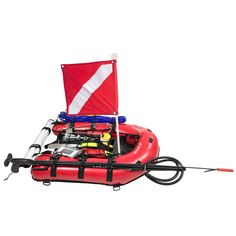 Equipped with a 3 bladder system for maximum buoyancy and support, the MAKO Inflatable Dive Board is the ideal platform for shore dives hosting a variety of accessories for spearfishing, lobstering, abalone diving and collection Diving Suit, Scuba Diving, Spearfishing Gear, Dive Bag, Diving Board, Bug Out Vehicle, Scuba Gear, Fish In A Bag, Diving Equipment