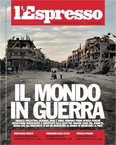 La copertina dell'Espresso in edicola da venerdì 25 luglio