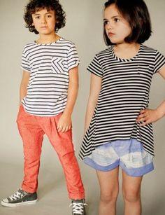 Banyan Shorts, Tee, Tunic, Pants Pattern for Boys & Girls 18mo - 9yrs  Figgy's Patterns