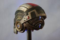 Mass Effect 3: N7 Breather Helmet by JarmanProps on DeviantArt