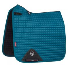 LeMieux ProSport Suede Dressage Square - Peacock Green - Saddlecloths & Pads - Saddlery - Tack | Equestrian Performance