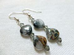 Jewerly  Opal Quartz Teardrop Earrings by christineconrad on Etsy, $8.00
