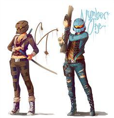 CT and Number One by Synnesai.deviantart.com on @deviantART