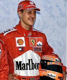 Michael SCHUMACHER •   Champion du Monde 2001