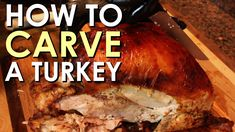 How to Carve a Turkey [VIDEO]  This will come in handy tomorrow.