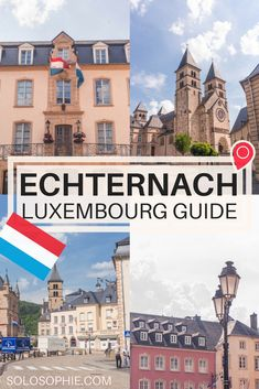 Echternach is the oldest town to be found anywhere in the Grand Duchy. Here's a quick guide to the very best things to do in Echternach, Luxembourg! Backpacking Europe, Travel Europe Cheap, European Travel, Travel Couple, Family Travel, Parque Natural, Best Travel Guides, Travel Info, Europe Destinations