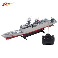 119.00$  Watch now - http://aijjr.worlditems.win/all/product.php?id=32669775442 - RC Boat 1/275 Radio Remote Control Battleship War ship Boat RC Military War Ship Electronic Model Toy