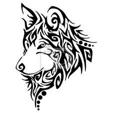Find Wolf Howl Blend Tree Drawing Tattoo stock images in HD and millions of other royalty-free stock photos, illustrations and vectors in the Shutterstock collection. Tribal Animal Tattoos, Tribal Animals, Wolf Tattoo Tribal, Celtic Animals, Silhouette Tattoos, Dog Silhouette, Wolf Tattoo Design, Tattoo Designs, Lobo Tribal