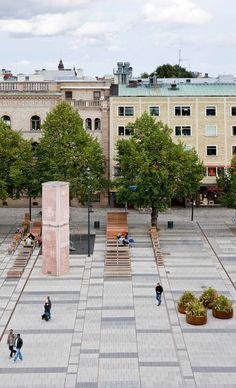 Stortorget / City of Gävle - Bernstrand & Co