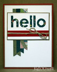 Paper Perfect Designs by Kim O'Connell: My Favorite Things Happy Helllos Die-Namics (to be released 5/7)