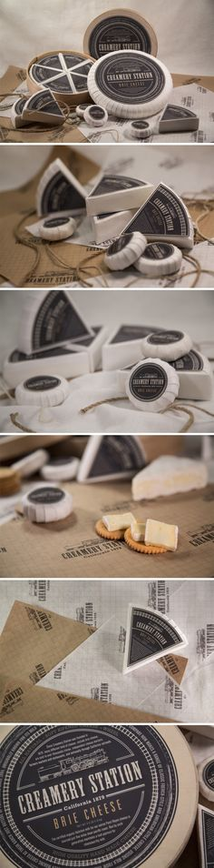 Brie Cheese Packaging Design PD
