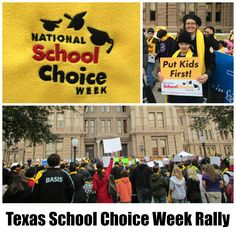 Notes from the Texas School Choice Week Rally in Austin, January 30, 2015   San Antonio Charter Moms
