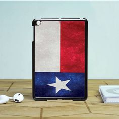 Texas Flag Texture iPad Mini 2 Case Dewantary