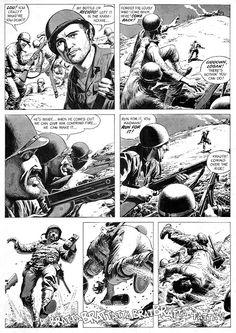 Century Danny Boy: Original Art Stories: The War Time Russ Heath Comic Book Layout, Comic Book Pages, Comic Book Artists, Comic Artist, Comic Books Art, Frank Frazetta, Frank Miller, Greg Capullo, Jack Kirby