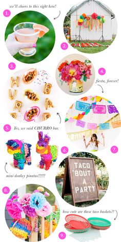 Party Trends:  Fiesta | The Sweet Lulu Blog