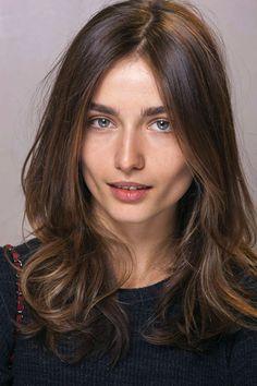 French Hair - medium length easy, slight wave, layers