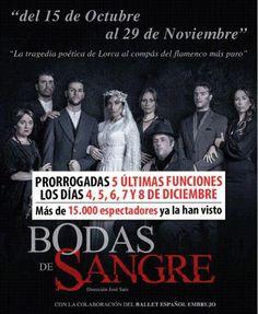 5 Últimas funciones de Bodas de Sangre - http://www.valenciablog.com/5-ultimas-funciones-de-bodas-de-sangre/