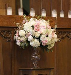pink altar arrangement - Google Search