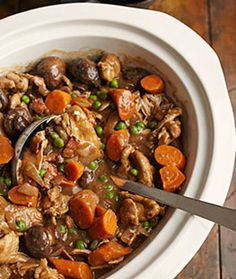 Low calorie slow cooker stout & chicken stew. 366 cal per portion.