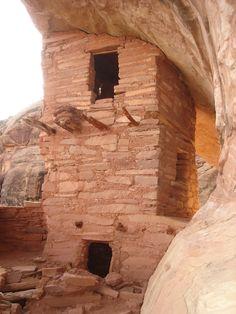 Anasazi tri level ruins, SE, Utah