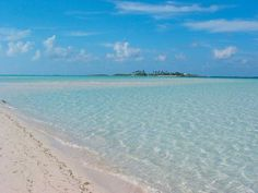 I am never more at peace than when I am in or near the water.  The beach at Green Turtle Cay