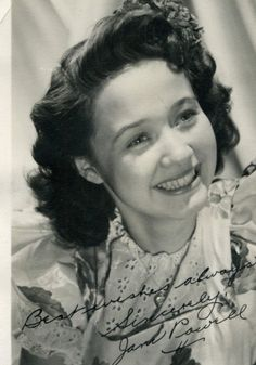 In Glorious Black and White . or Sepia: Classic Hollywood Portraits Hollywood Actor, Classic Hollywood, Old Hollywood, Jane Powell, Golden Star, Family Movies, American Singers, Actors & Actresses, Dancer