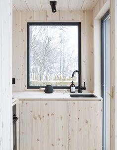 Scandinavian Cabin, Cottage Interiors, Tenerife, Interior Design Kitchen, Interior Inspiration, Interior Architecture, Tiny House, Beautiful Homes, Living Spaces