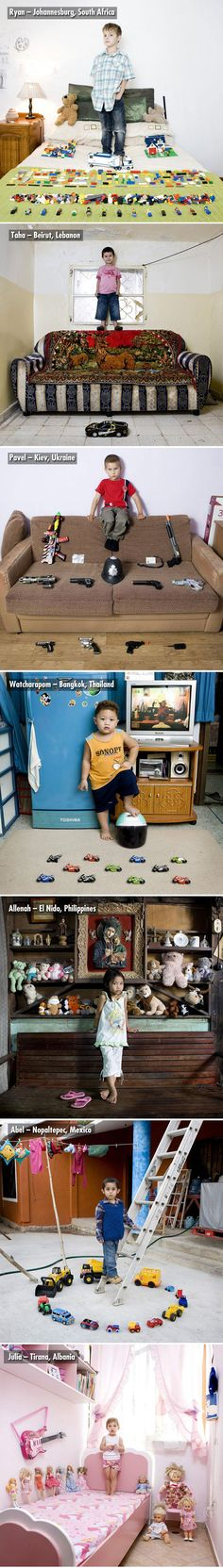 Children From Around the World with their Most Prized Possessions ...3