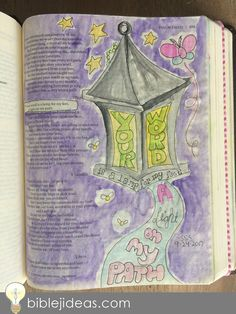Bible Journaling Ideas: A Look At My Bible Doodles This might be one of the toughest posts I've ever written.