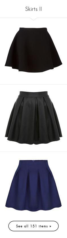 """Skirts II"" by lucyheartyui on Polyvore featuring skirts, mini skirts, bottoms, saias, faldas, black, straight skirt, high-waisted skirt, flouncy skirt i a-line skirt"