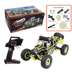 (107.35$)  Buy here - http://ain9j.worlditems.win/all/product.php?id=32756764822 - Original WL Toys 12428 RC Car 1/12 Scale 2.4G Electric 4WD Climbing car Remote Control Car 50KM/H High speed RC Car Give Parts