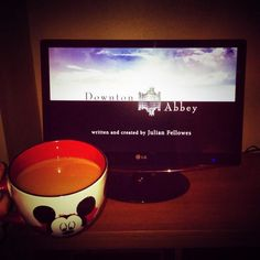 Downton abbey and cup of tea time #DowntonAbbey... This is my fav