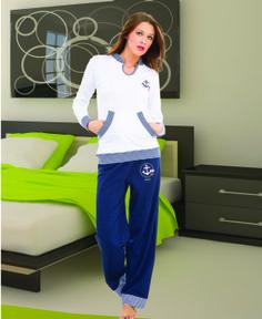 3691 Battal Bayan Pijama Takımı